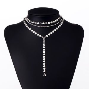 Jewelry - Silver Sequins Choker *HP*